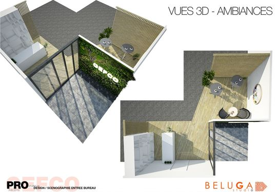 Image 1 du projet Gefco Etupes - Amenagement Interieur